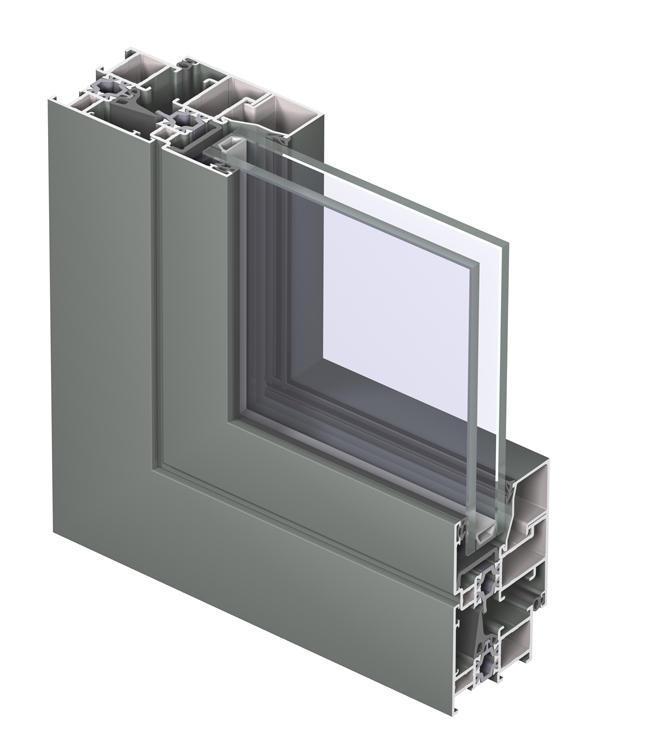 sys Drawing3D 1150 - Chi tiết 3D hệ cửa