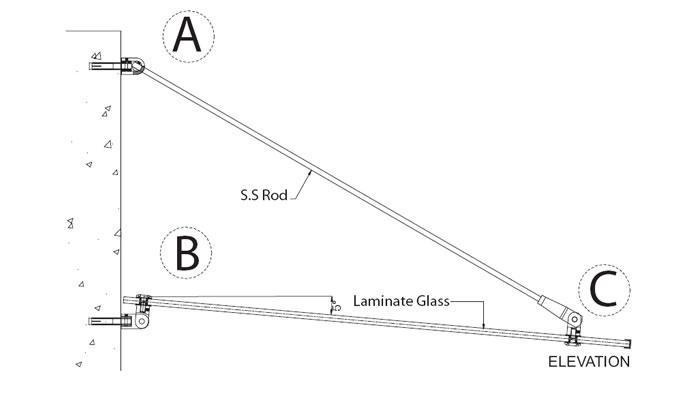 Một bản thiết kế mái kính