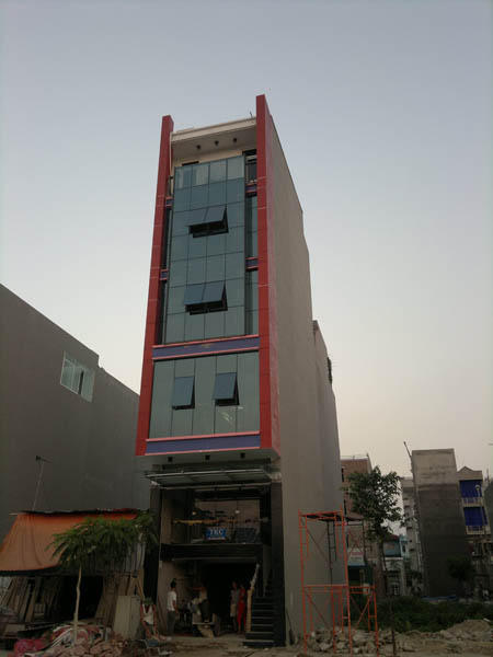 10 - Tòa nhà văn phòng công ty xây dựng An Bình Minh - Chợ Văn La - Văn Phú