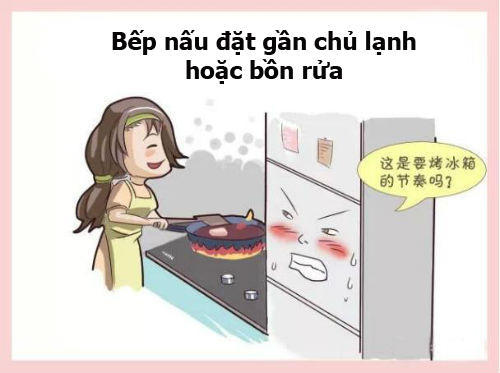 10 cam ky phong thuy nha bep moi nguoi can biet - 7