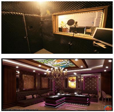 Tường cách âm phòng thu và phòng hát