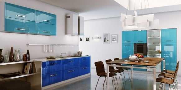 tu bep go acrylic2 - Sự khác biệt giữa kính sơn chịu nhiệt và kính sơn thông thường