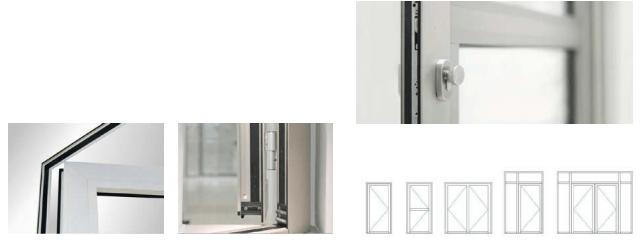 cdn - Một số mẫu cửa cửa nhôm CIVRO Đức