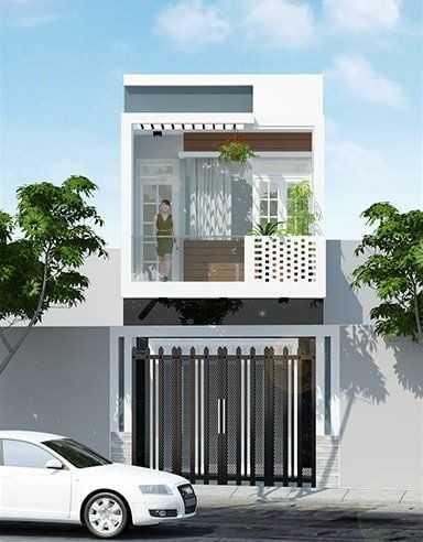 mau nha dep 2020 22 - Mẫu nhà đẹp năm 2020 với cửa nhôm kính xu hướng cửa hiện đại