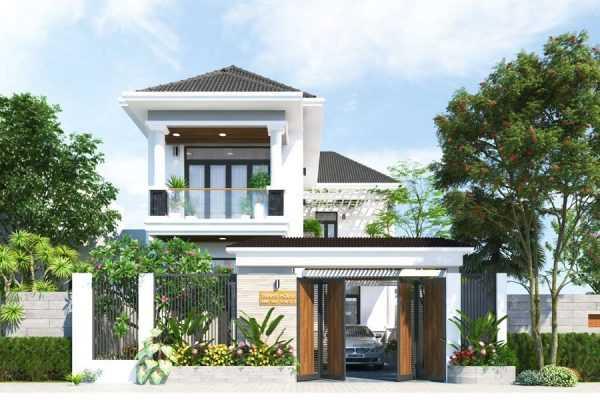 mau nha dep 2020 5 - Mẫu nhà đẹp năm 2020 với cửa nhôm kính xu hướng cửa hiện đại