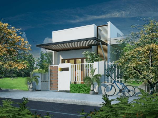 mau nha ong dep 2020 17 600x450 - Ngỡ ngàng những mẫu nhà ống đẹp 2020 được thiết kế theo kiến trúc mới với cửa nhôm kính